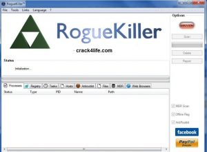 RogueKiller Anti Malware